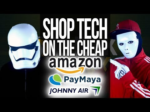 How to Shop on Amazon & US Online Shopping Sites in the Philippines with PayMaya & Johnny Air Cargo