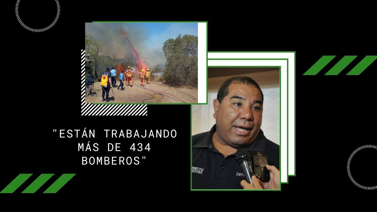 """""""Están trabajando más de 434 bomberos"""""""