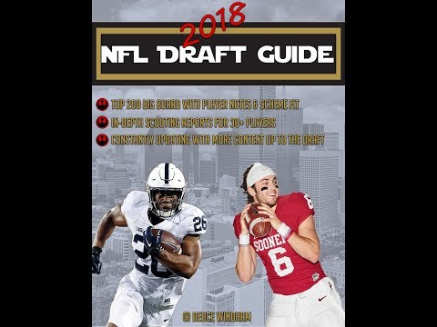 2018 NFL Draft Guide Now For Sale