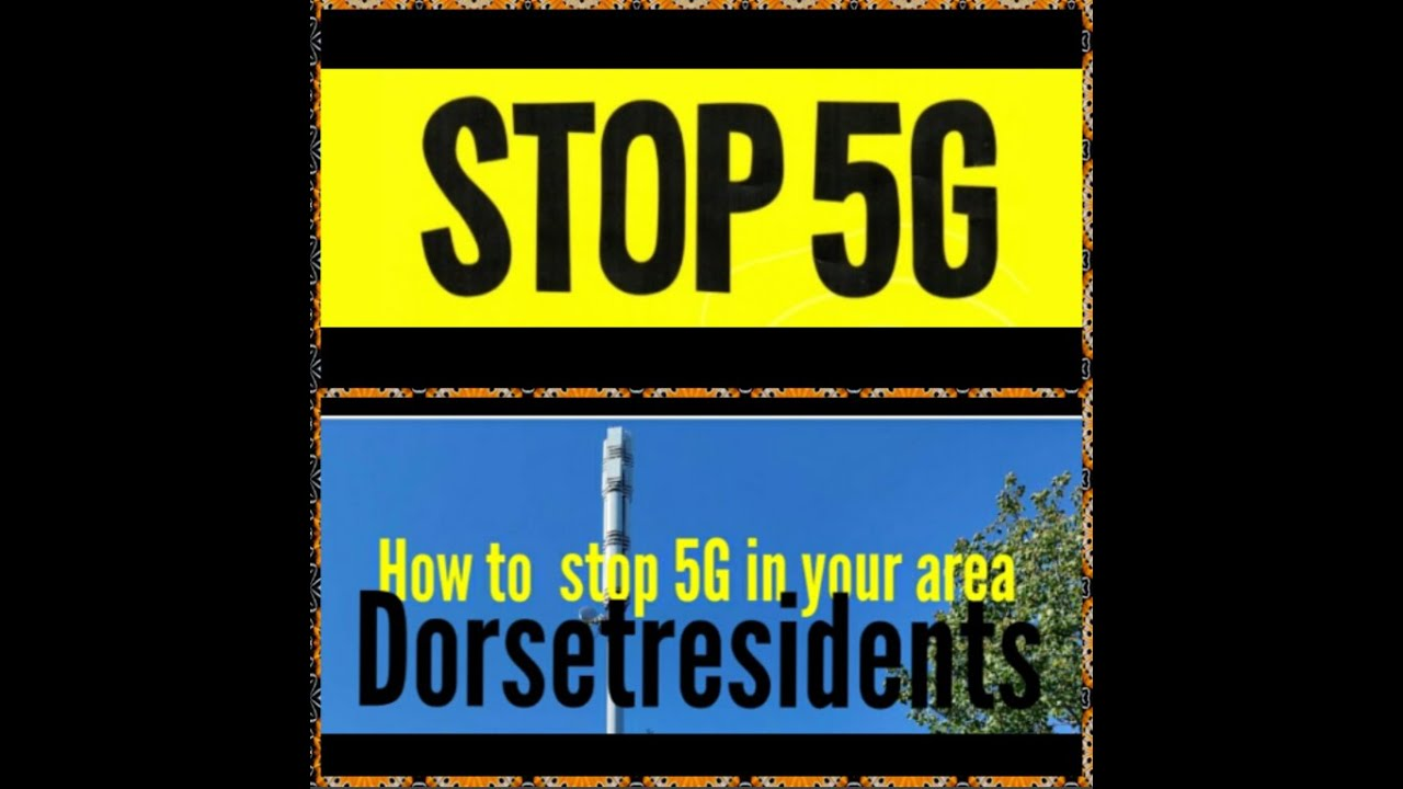 How to stop 5G in your area.