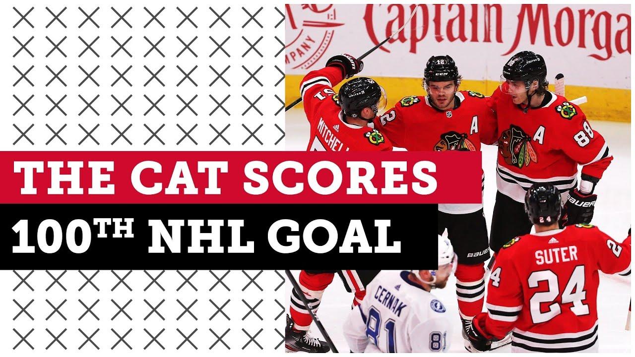Blackhawks beat Lightning in shootout, DeBrincat scores 100th NHL Goal | Blackhawks Postgame Live