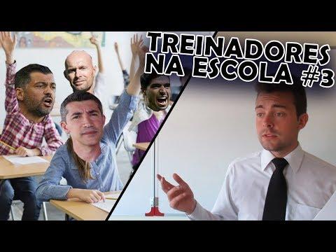 TREINADORES NA ESCOLA #3 (c/ Bruno Lage, Sérgio Conceição, Abel Ferreira)