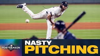 All the Nasty Pitching from the ALDS, NLDS and Wild Card