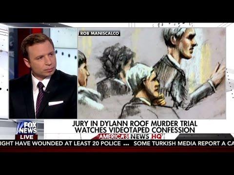 David Bruno On Fox News America S News Hq Dylann Roof