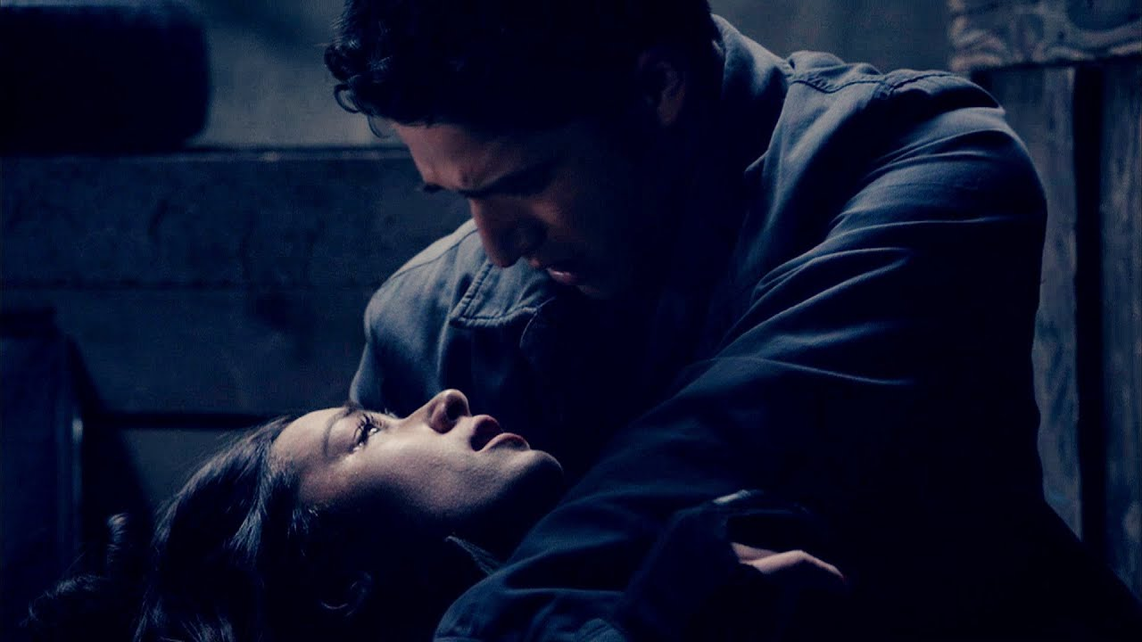 Girl Died Boy Crying Wallpaper Allison Scoot I M In The Arms Of My First Love 3x23