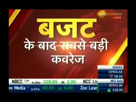Kiran Jadhav, Technical Analyst, KiranJadhav.com on Zee Business 02nd Feb 2018