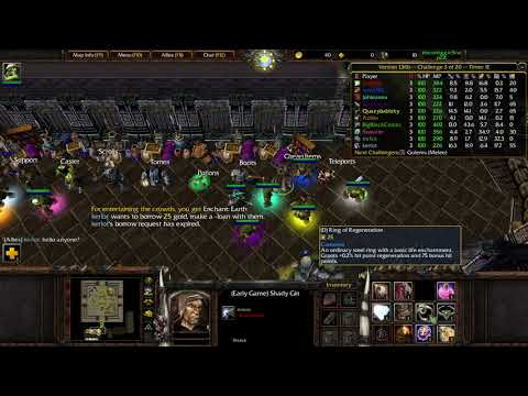 Warcraft 3: Orc Gladiators - Trying out Double Blade
