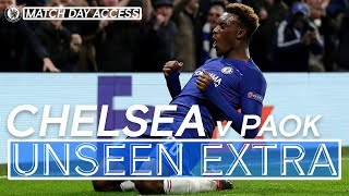 Tunnel Access: Hudson-Odoi's First Chelsea Goal Guarantees Top Spot! | Unseen Extra