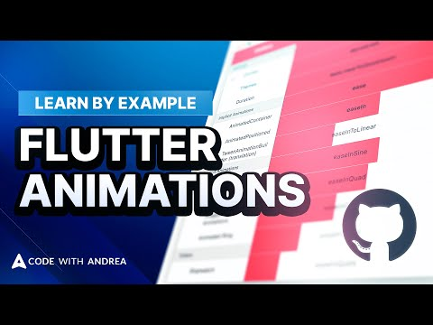 Learn Flutter Animations in 8 Minutes + Free Gallery App on GitHub