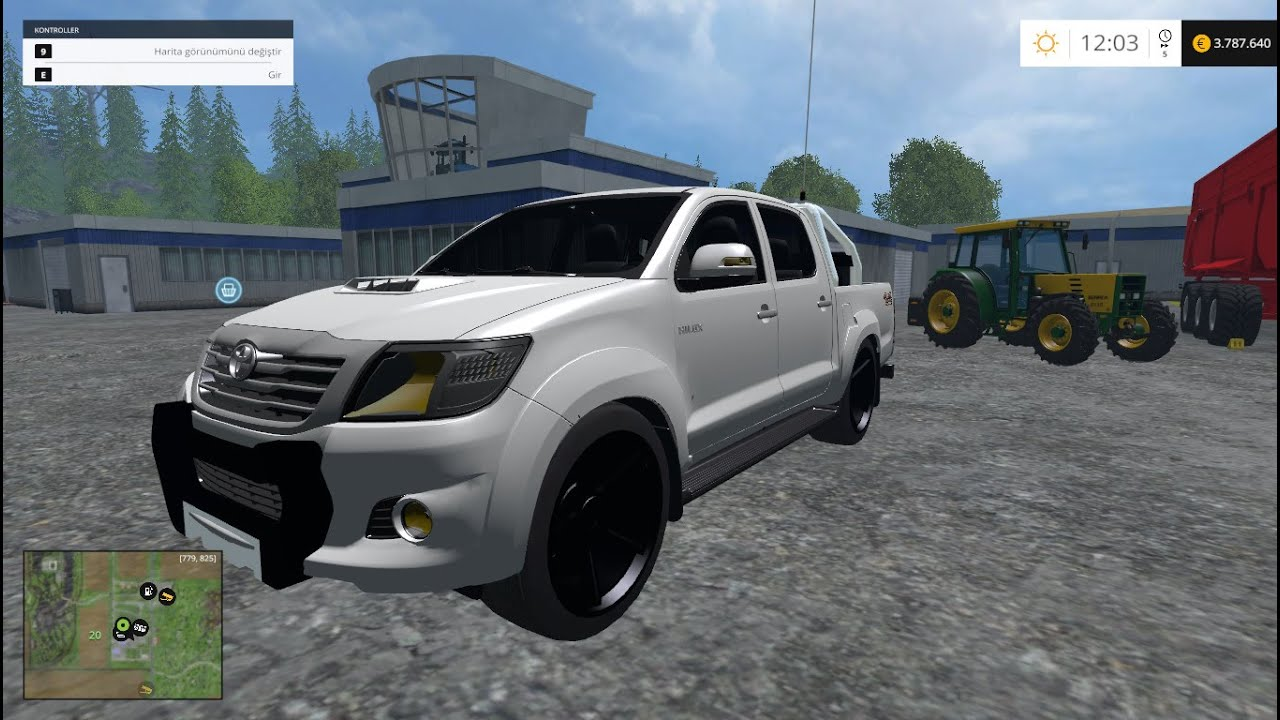 Farming Simulator 2015 Toyota Hilux Car Mod Youtube