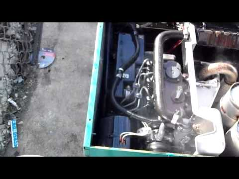 Onan Quiet Diesel Generator 7500 YouTube