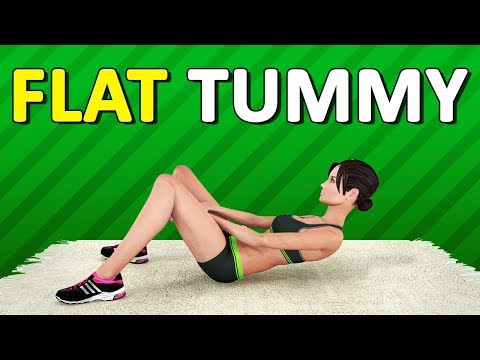 Fat Burning Workout for a Flat Tummy (HIIT + Cardio, 113 calories)