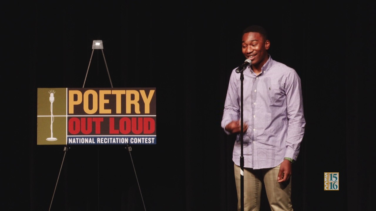 SCOE Poetry Out Loud 2017: Chigozie Maduchukwu (Round 1)