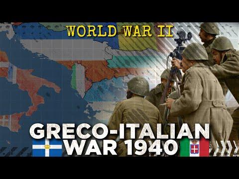 Battle of Greece 1940: Mussolini Attacks - World War II DOCUMENTARY