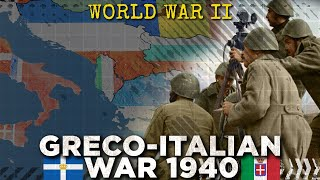 Battle of Greece 1940: Mussolini Attacks - World War II DOCUMENTARY
