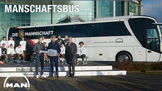 #MANschaftsbus handover to the DFB team