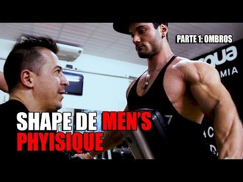 SHAPE DE MENS PHYSIQUE | TREINO DE OMBROS   PARTE 1