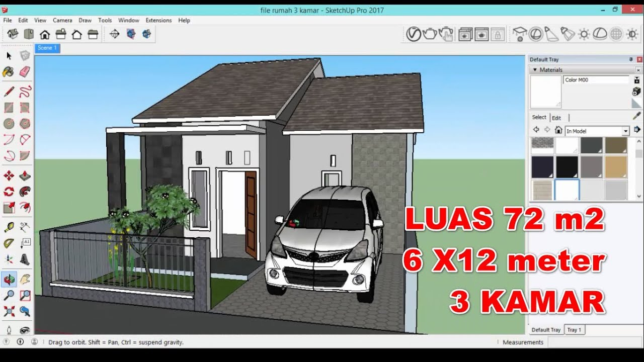 6100 Koleksi Gambar Desain Rumah Minimalis File Sketchup HD Paling Keren Unduh Gratis