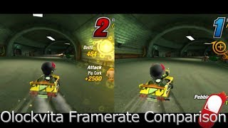 ModNation Racers: Road Trip - Framerate Comparison for PS Vita (Oclockvita)