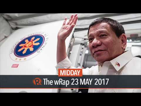 Duterte arrives in Russia for official visit