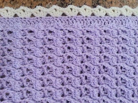 Youtube Crocheting Baby Blanket : Crochet Precious Angel Baby Blanket Set DIY Tutorial - YouTube