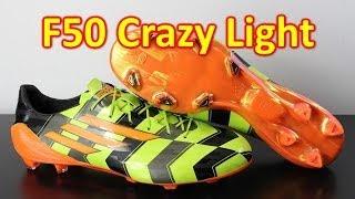 Adidas F50 adizero Crazy Light - Unboxing + On Feet