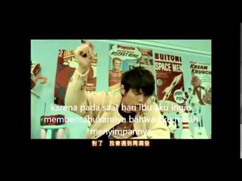Jay Chou   Ting Mama De Hua  Indonesia Lyrics