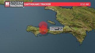 Haiti earthquake today | 7.2 magnitude Saturday morning