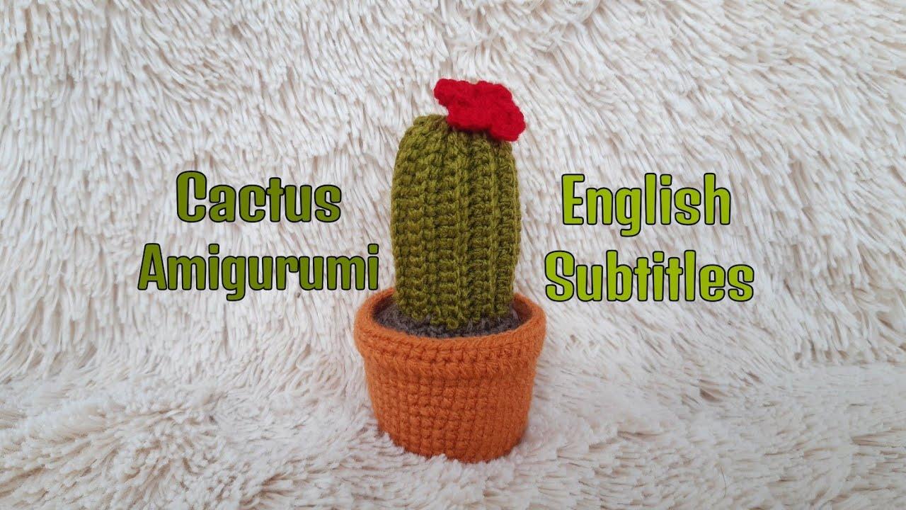 ▻ Aprenda a fazer um lindo Cacto em Amigurumi de crochê [Passo a ... | 720x1280