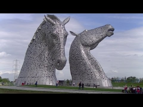The Kelpies - Scotland's newest visitor attraction.