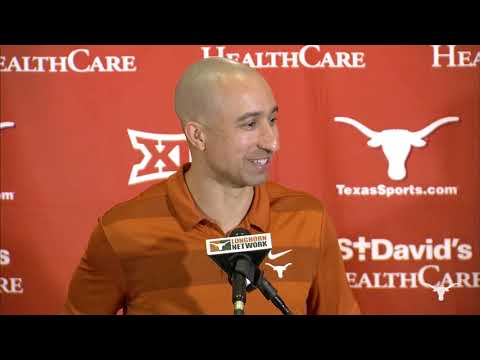 The Bottom Line - Hear From The Texas Basketball Head Coaches Ahead Of Their First Game.