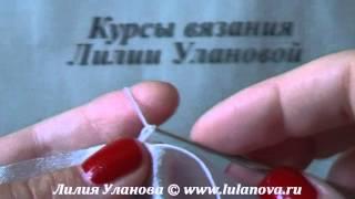 Как Обвязать Ткань - вязание крючком
