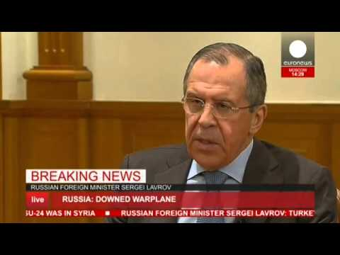 "Sergei Lavrov press conf. ""We will never go to war with Turkey"" - LIVE"