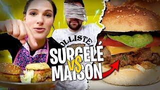 Burger Surgelé vs Burger Maison préparé par Pidi !
