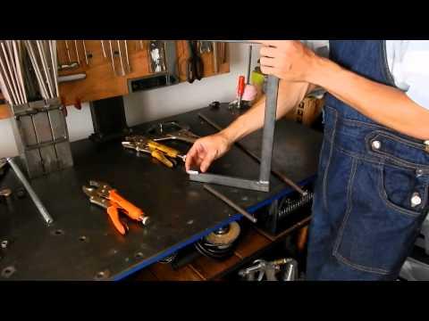 Como hacer una prensa en C (homemade C clamp)