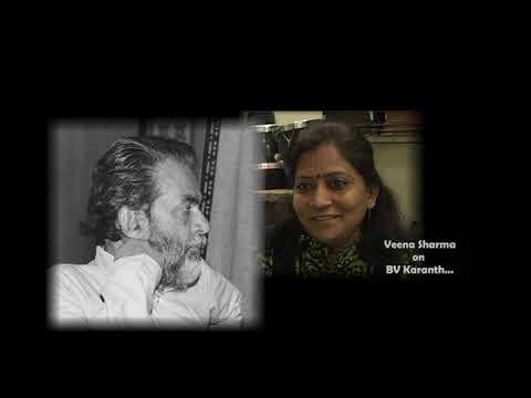 BVK Online Archives 54 - Veena Sharma on BV Karanth_Kannada