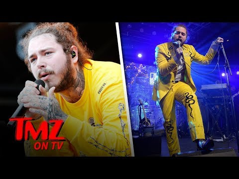 Post Malone Has Had The Worst Luck Ever   TMZ TV