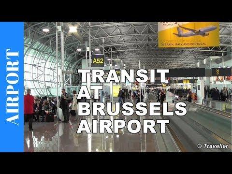 Transit Brussels Airport (BRU) - Brussel-Zaventem Airport (BRU) - Concourse A - Belgium Travel video