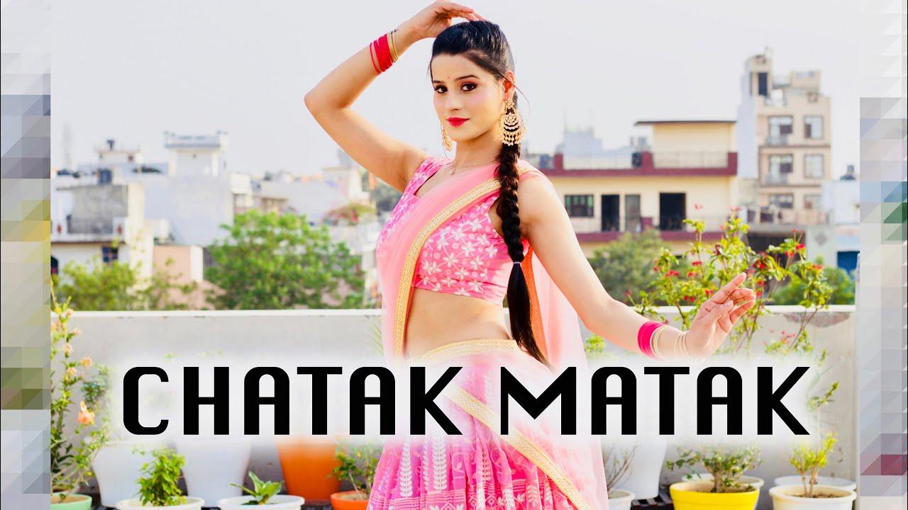 Download CHATAK MATAK | Dance Cover By Kanishka Talent Hub | Renuka Panwar