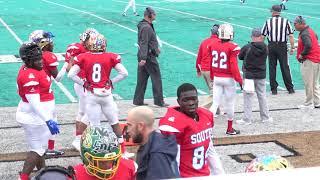 North South Touchstone Energy Bowl game (2018 Shrine Bowl)