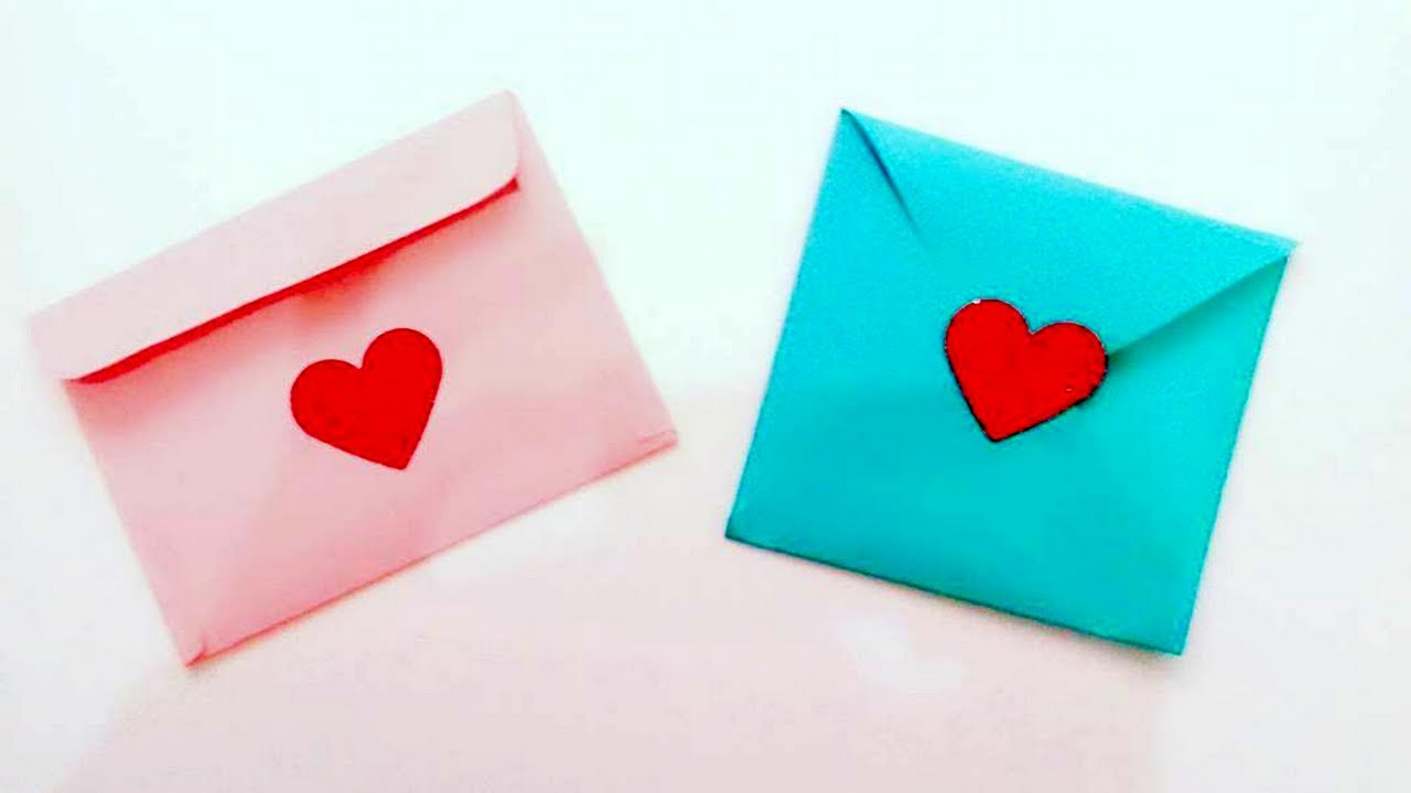El İşi Kağıdından Kalpli Davetiye Yapımı
