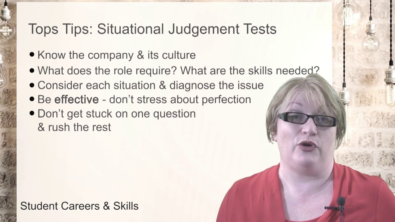 Situational Judgement Test - 2019 Guide & Tips