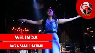 melinda jaga slalu hatimu live perform media gathering