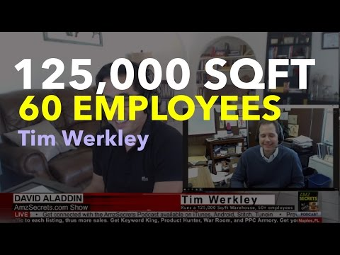 Which warehouse should you use? Tim Werkley grew his to 125,000 sqft, and 60 employees