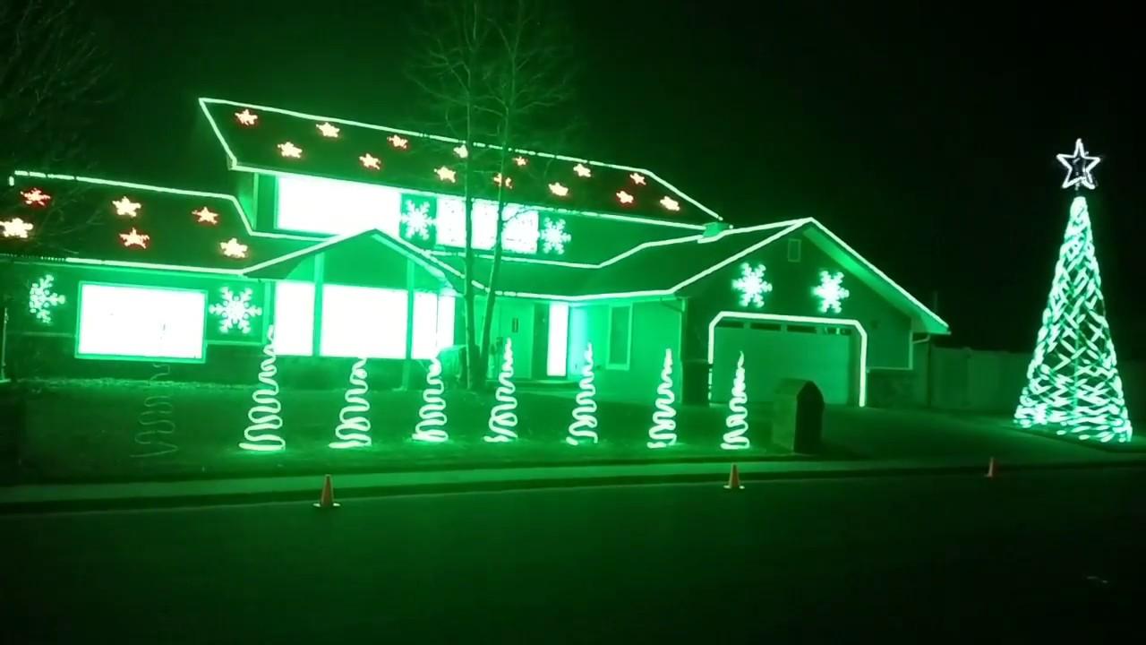 Grand Junction Christmas Lights 2020 Grand Junction Christmas Lights 2017   YouTube