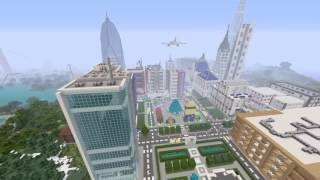 Minecraft la plus grande ville du monde