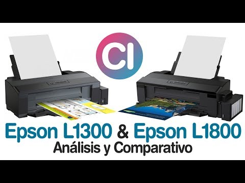 Epson L1300 vs Epson L1800 (Análisis y Comparación)