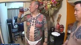Якудза устроили драку в Токио