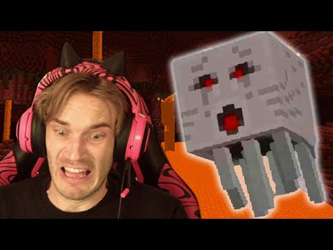 Minecraft is scary!!!