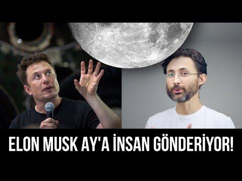Elon Musk şimdi de AY'a insan gönderiyor! 🌙Hem de kimi gönderiyor biliyor musunuz?